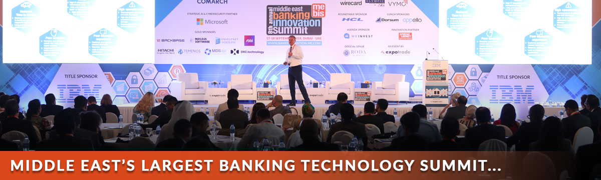 Middle East's Largest Banking Technology Summit